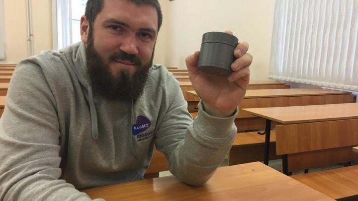 Уфимец получил два миллиона рублей от Тюменской области на проект анализатора молока