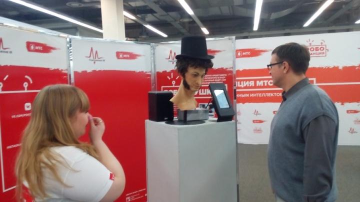 В Самаре покажут роботов, которые умеют обниматься, танцевать и наизусть читают Пушкина