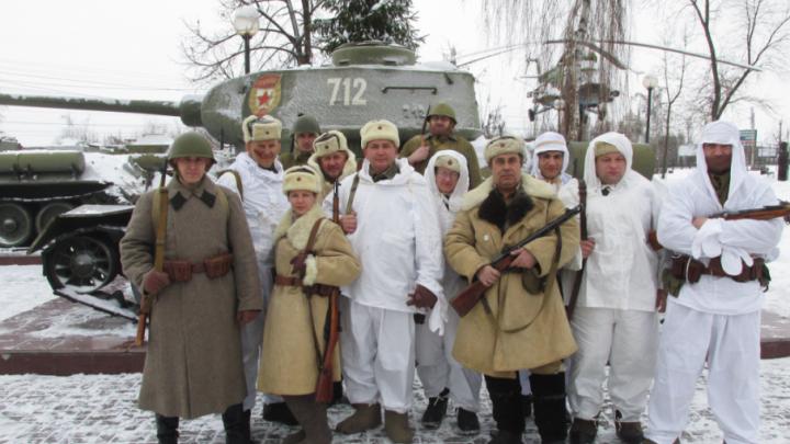 Дончане приняли участие в освобождении Воронежа от немцев 75 лет спустя