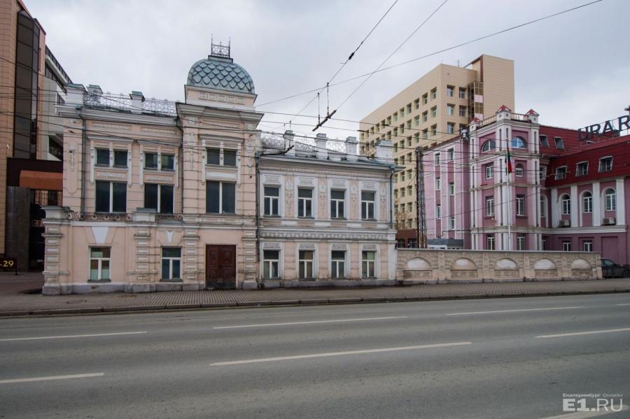Усадьба ротмистра Переяславцева. В 1988 году здание реконструировали.