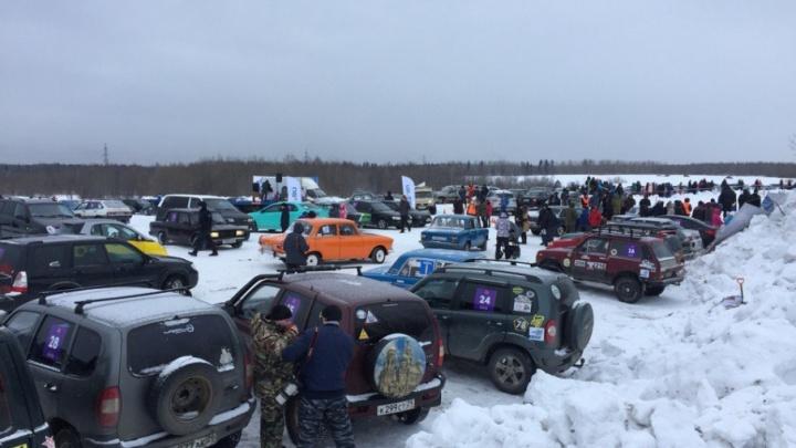 Снежное месиво: фестиваль автоспорта «Тур Де Ралли 2018» собрал более 1000 зрителей