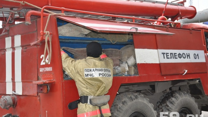 В Усолье отец спас двоих сыновей из горящего дома
