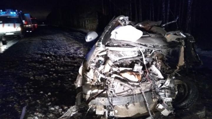 Ночью в ДТП на Червишевском тракте погибли четыре человека