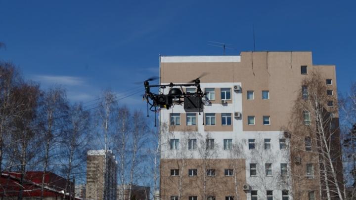 Исследуют воздушное пространство: ученые из Самары протестировали «летающую лабораторию»