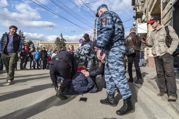 Задержание Николая Беликова