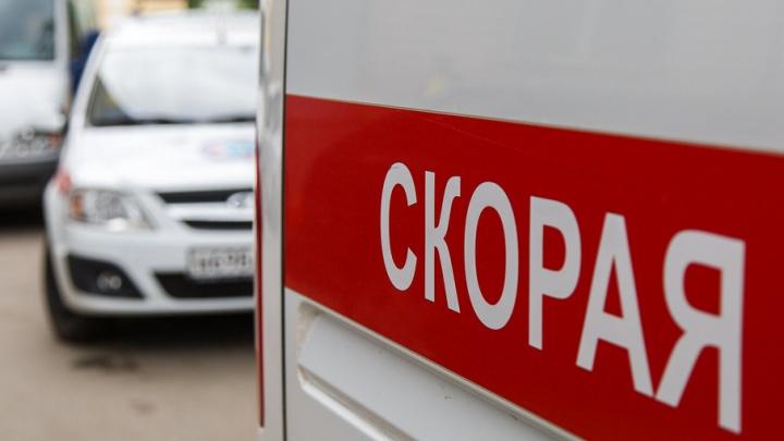 В Волгограде КАМАЗ вылетел на встречку и врезался в «Ладу»