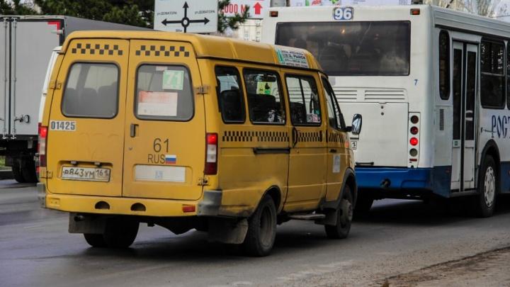 Чиновники собираются сократить количество маршруток в Ростове