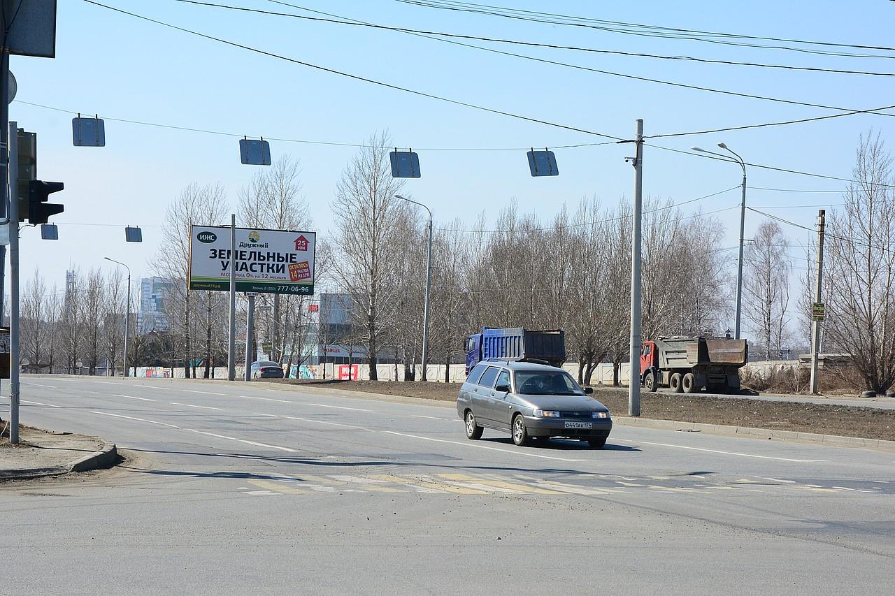 Исчезла стоп-линия и на пересечении Чичерина с пр. Победы