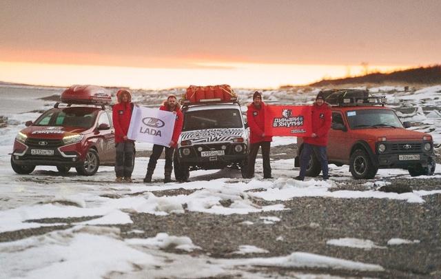 Автомобили LADA Xray испытали в самой холодной точке Земли: Оймяконе
