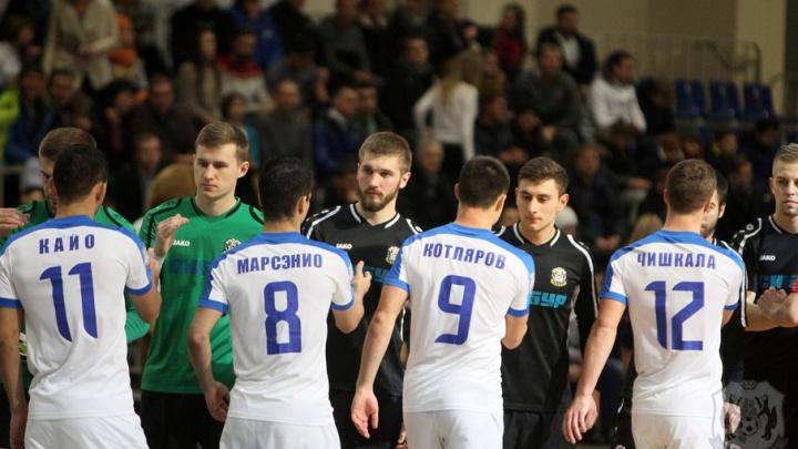 В тюменском турнире по мини-футболу примет участие обладатель Кубка УЕФА