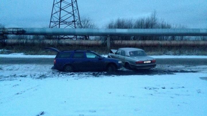 Обгон на Окружной в Северодвинске закончился аварией