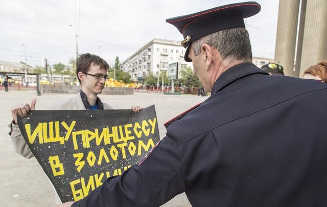 В Волгограде на первомайское шествие выйдет монстрация трудящихся
