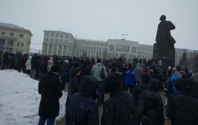 В Архангельске поддержали всероссийскую акцию против коррупции