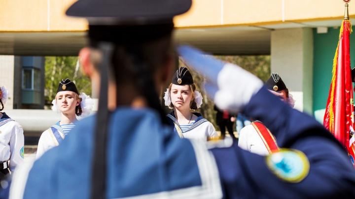 Выпускной в камуфляже: как ярославские кадеты попрощались со школой