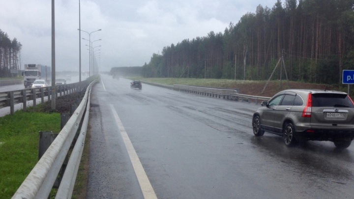 На трассе Пермь–Екатеринбург восстановили рухнувший мост