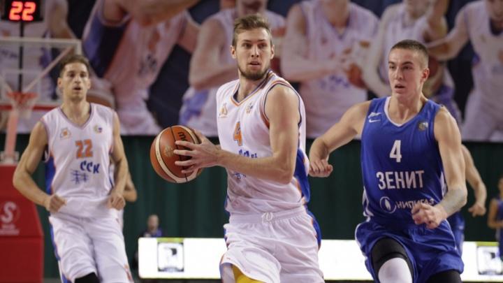 Самарские баскетболисты разгромили «Зенит-Фарм» в матче Суперлиги со счетом 116:67