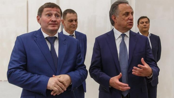 Виталий Мутко снова прилетел в Волгоград для проверки перед ЧМ-2018