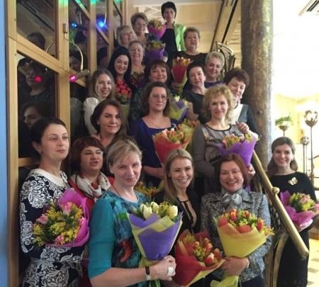 В Ростове поздравили бизнесвумэн, занимающихся благотворительностью
