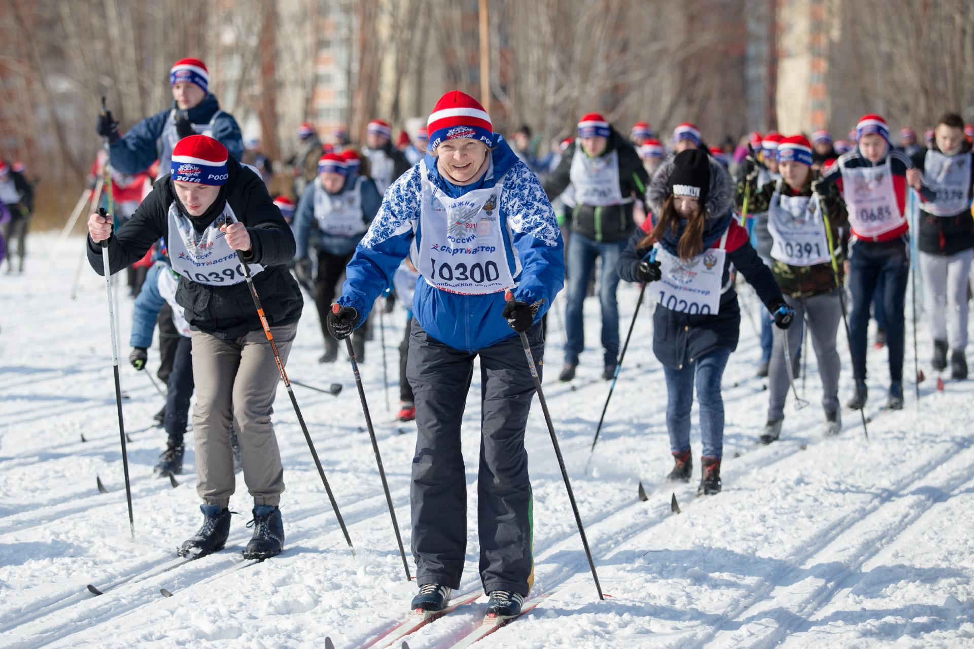 Спортивные забеги прошли ещё в феврале