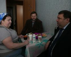 Директор Фонда жилстроительства ЯНАО посетил микрорайон Ямальский