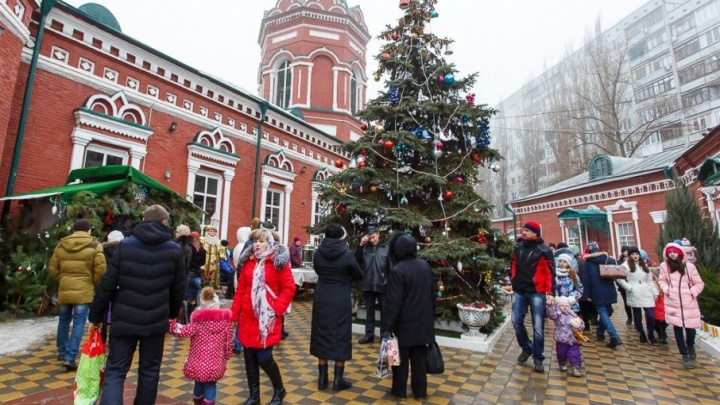 В Волгограде начинаются рождественские гулянья