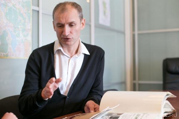"""Сергей Федяков работает директором """"Салюта"""" более десяти лет."""
