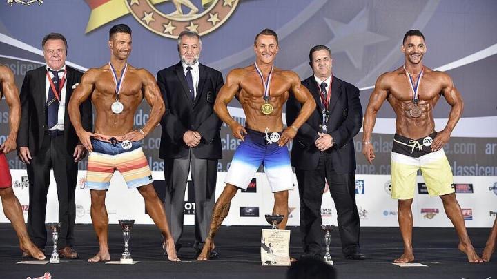 Пермский атлет победил в европейском чемпионате по бодибилдингу в Испании