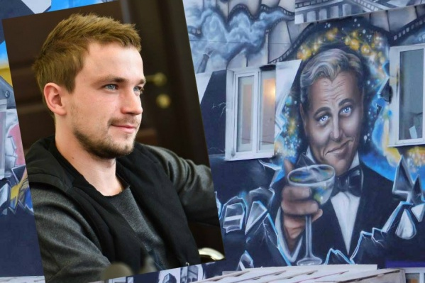 Гостиница, которую открыл Александр Петров, привлекла внимание переславцев портретом ДиКаприо на фасаде здания