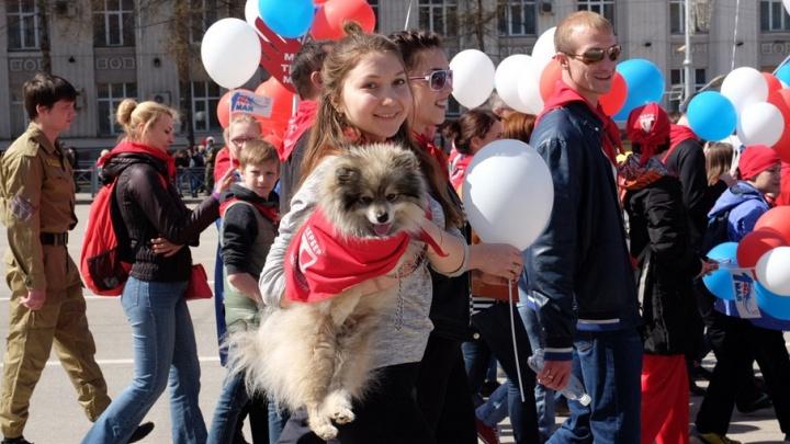 Демонстрация, концерты и эстафета: как в Перми отметят 1 Мая