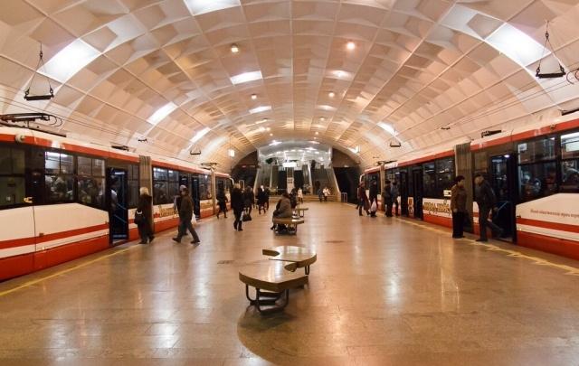 В Волгограде из-за подозрительной сумки остановились трамваи