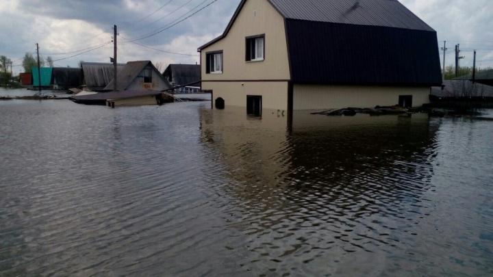 Последствия паводка: шесть домов в Ишиме признаны непригодными для проживания