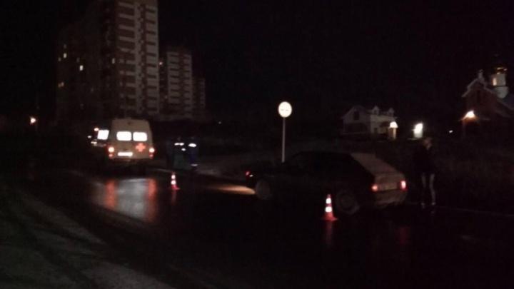 Молодой водитель насмерть сбил человека в Миассе