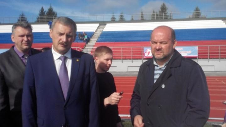 Губернатору Игорю Орлову стало стыдно за «помоечный» стадион Личутина