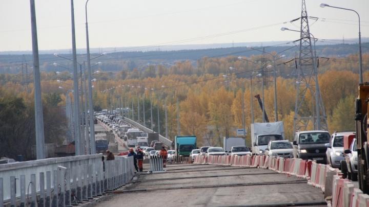 Дождались: движение на Южном мосту по обеим полосам пустят в течение недели