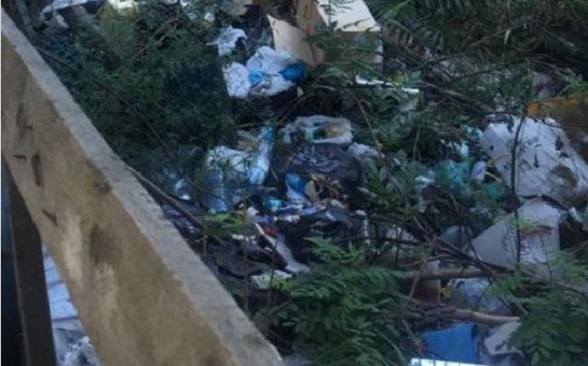 Пять самосвалов мусора вывезли коммунальщики с незаконной свалки в переулке Халтуринском