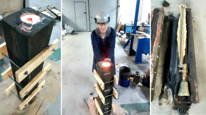 В Самаре штыки, шашки и пулемет для памятника Чапаеву напечатают на 3D-принтере