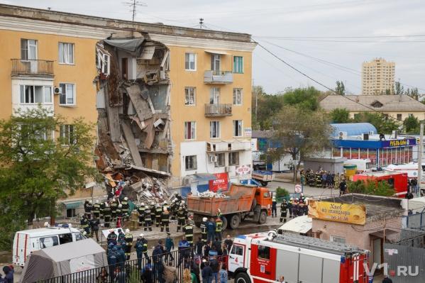 Взрыв и обрушение дома произошли из-за несанкционированных работ
