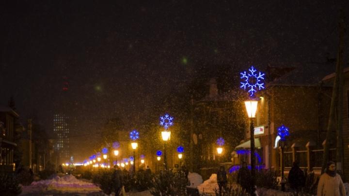 Небольшой снегопад ждет жителей Поморья в среду