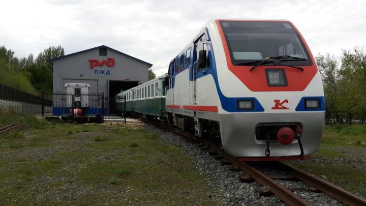 В Волгограде начинает работу детская железная дорога