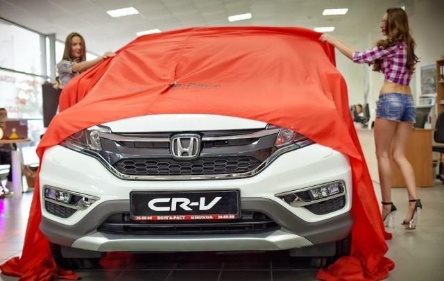 В Волгограде состоялась презентация Honda CR-V 2015