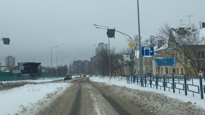 Открытие улицы Луначарского перенесли еще на 1,5 месяца