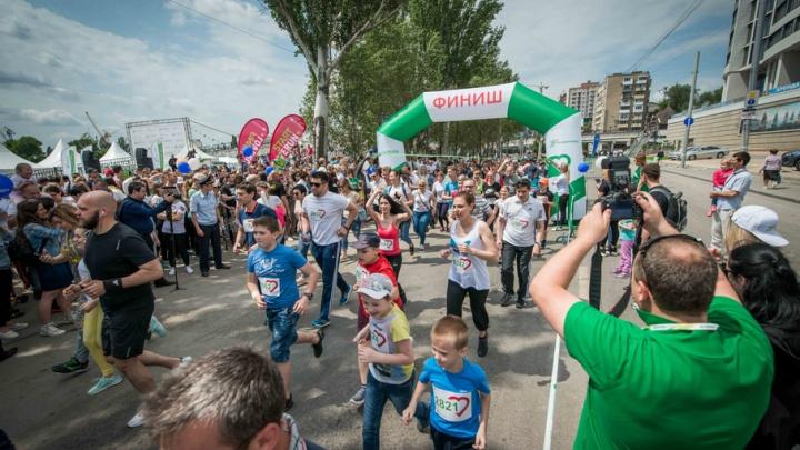 «Комстрой» на «Зеленом марафоне»: мороженое – детям, забег – сотрудникам
