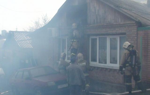 Спасатели ликвидировали пожар на Актюбинской