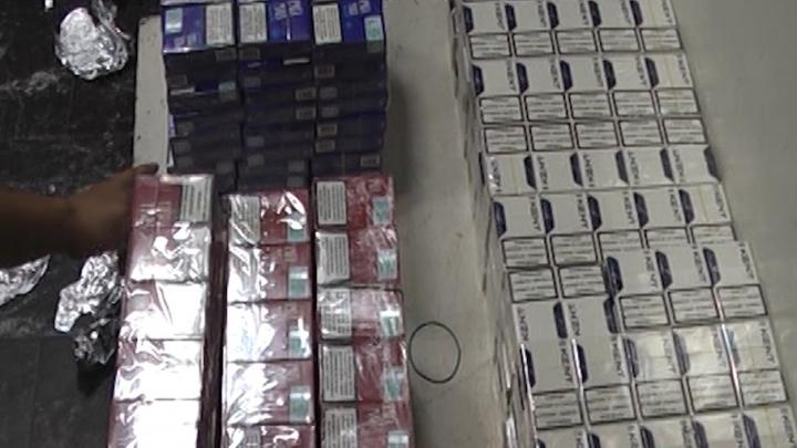 Челябинские таможенники задержали туриста, взявшего в Турцию 14 кг сигарет