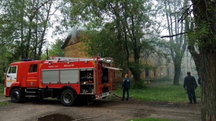 Спасатели назвали версию пожара на Пятёрке