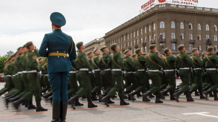 Волгоградский парад Победы похвалил мэр французского города Уй