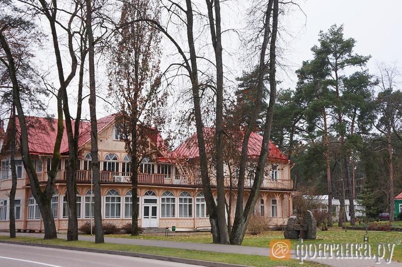 В центре Друскининкая