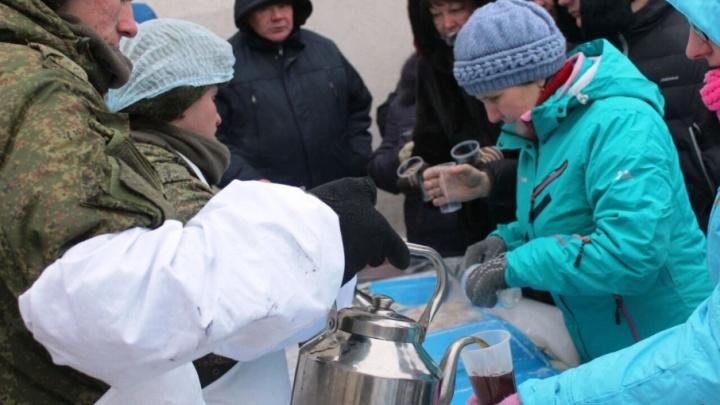Жителей Красноглинского района 9 Мая накормят 2500 порциями каши