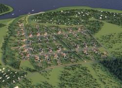 На юге Архангельской области строятся малоэтажные жилые комплексы