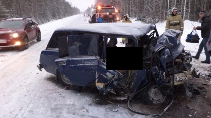 На дороге Архангельск — Каргополь — Вытегра в автомобильной аварии погибли пять человек